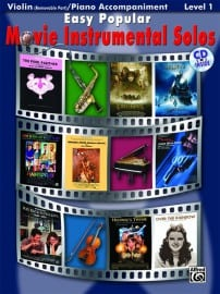 Easy popular movie instrumental solos violin