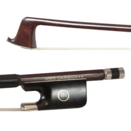 Carbon composite 2 star wood veneer Viola bow