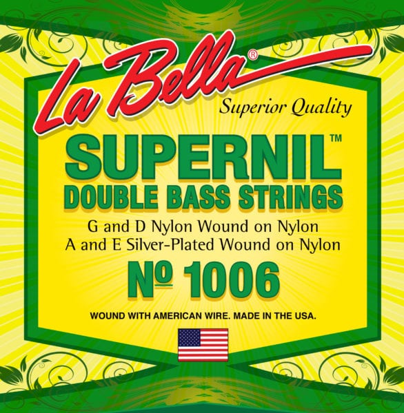 La Bella Supernil Double Bass strings set