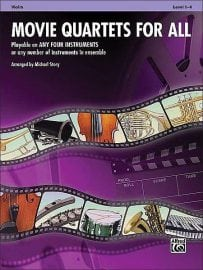 Movie Quartets for all Violin