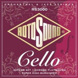 Rotosound RS3000 Cello string set
