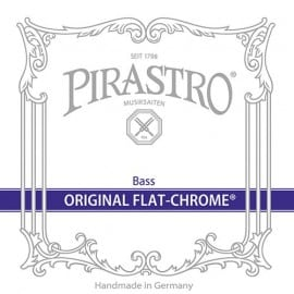Original Flat-Chrome Double Bass String set