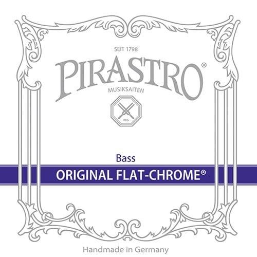 Original Flat-Chrome Double Bass E String