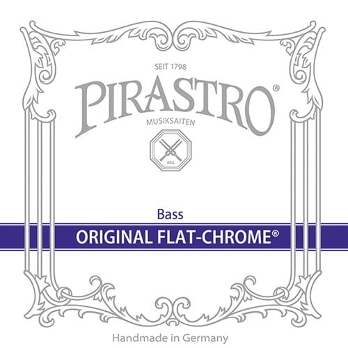 Original Flat-Chrome Double Bass Solo F# string