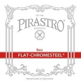 Flat-Chromesteel Double Bass E string