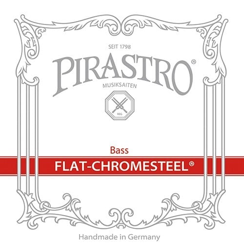 Flat-Chromesteel Double Bass E string