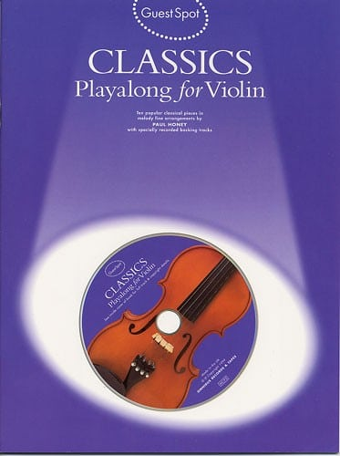 Guest Spot Classics playalong for violin