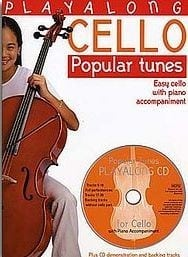 Popular tunes playalong for cello