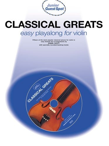 Classical greats easy playalong for violin