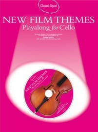 New film themes playalong for cello