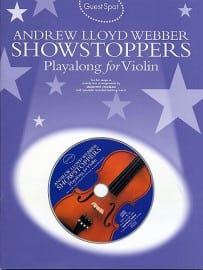 Andrew Lloyd Webber Showstoppers Playalong For Violin