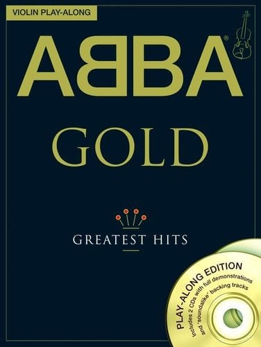 Abba gold playalong, for violin