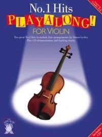 No.1 Hits playalong for violin