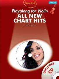 Guest Spot All New Chart hits playalong for violin