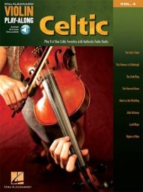 Celtic playalong for violin