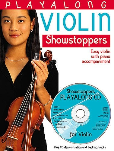 Showstoppers playalong for violin