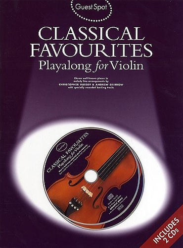 Guest Spot Classical favourites playalong for violin