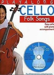 Folk tunes playalong, for cello