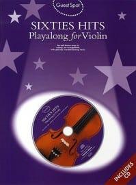 Sixties hits playalong for violin