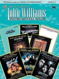 Very best of John Williams playalong (violin or viola or cello)