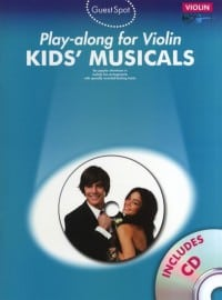 Kids' Musicals playalong for violin