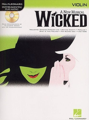 Wicked - Playalong for Violin, Viola or Cello