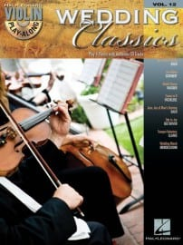 Wedding Classics playalong, for violin