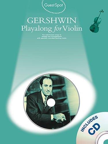 George Gershwin playalong, for violin