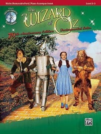 The Wizard of Oz playalong (violin or viola or cello)