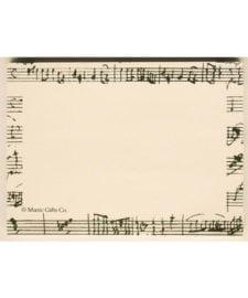 Manuscript Mozart Sticky Note Pads