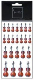 Sheet of Violin stickers