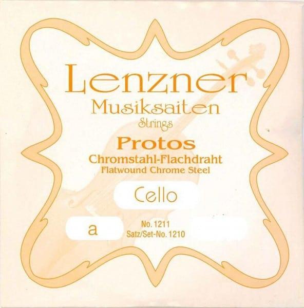 Lenzner (Optima) Protos Cello string set
