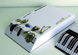 A6 slant pad - 2 designs