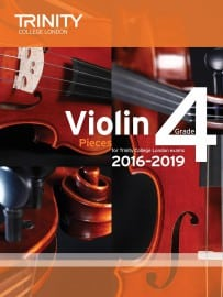 TCL Violin Grade 4 Exam pieces 2016-2019