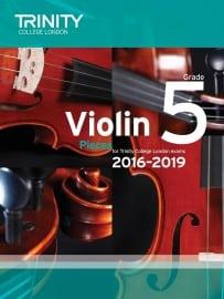 TCL Violin Grade 5 Exam pieces 2016-2019