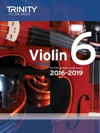 TCL Violin Grade 6 Exam pieces 2016-2019