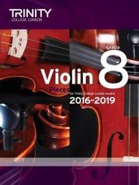 TCL Violin Grade 8 Exam pieces 2016-2019