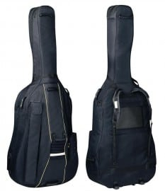 Cushy Double Bass Bag with wheels