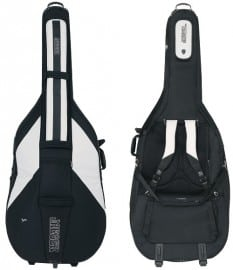 Jaeger Double Bass Bag with wheels