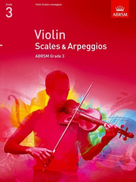 Violin Scales and Arpeggios Grade 3