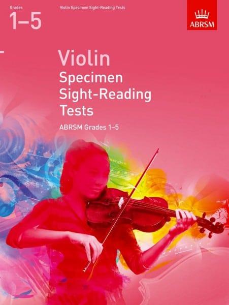 ABRSM Violin Specimen Sight Reading Tests Grades 1-5