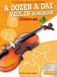 Dozen a day violin Christmas songbook