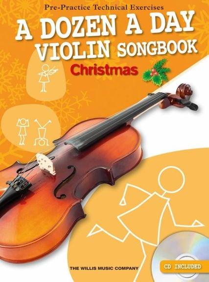 A Dozen a day Violin Christmas songbook