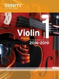 TCL Violin Grade 1 Exam pieces 2016-2019