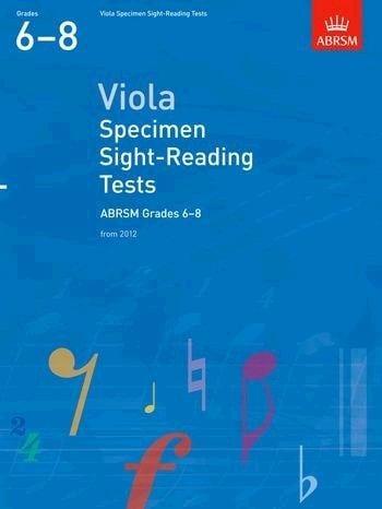 ABRSM Viola Specimen Sight Reading Tests