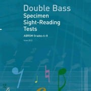 ABRSM Double Bass Specimen Sight Reading Tests