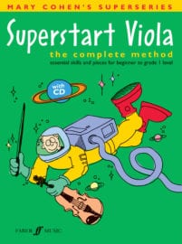 Superstart Viola (with CD) - Mary Cohen