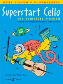 Superstart Cello (with CD) - Mary Cohen