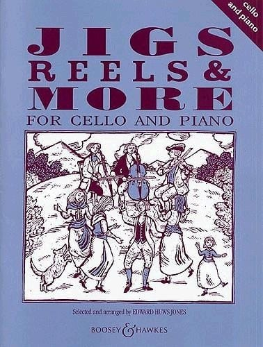 Jigs, Reels & more for Cello - Edward Huws Jones