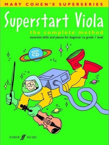 Superstart Viola (book/CD) - Mary Cohen